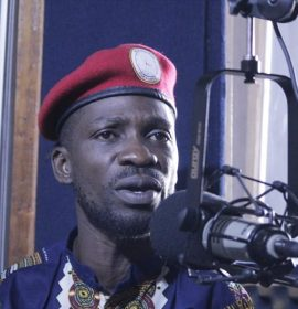 Uganda's Bobi Wine arrested at the airport, stopped from seeking treatment abroad
