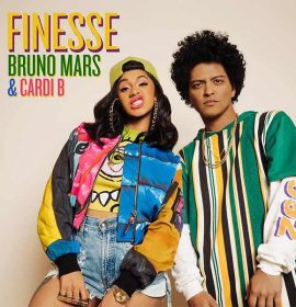 Bruno Mars ft Cardi B 's 'Finesse' crashes into the Top 3 this week | Top 10 USA