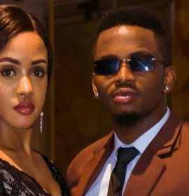 Diamond Platnumz and fiance Tanasha reveal baby's gender