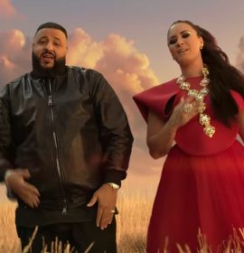 """DJ Khaled and Demi Lovato are true believers in the magical video for their collaboration, """"I Believe"""""""