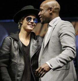 Mayweather Angry With Justin Bieber For Unfollowing Him On IG To Avoid His Negative Influences