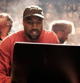 Kanye West pees on Grammy Plaque and Twitter flags video