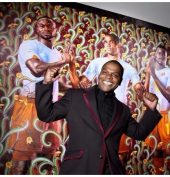 Genius Nigerian artist Kehinde Wiley selected to paint official portrait of Barack Obama