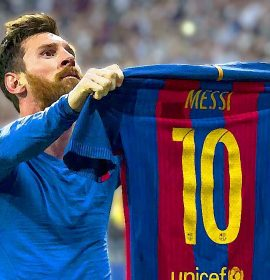 Lionel Messi scored against Chelsea for the first time in his career