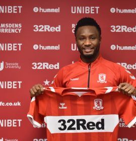 Middlesbrough fans celebrate Mikel Obi as 'Rolls Royce' and 'African Zidane'