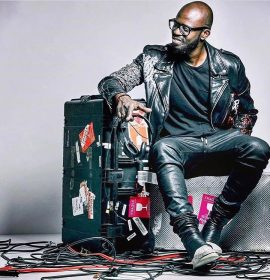 "Listen as South African DJ & Producer Black Coffee enlists Usher for lively new track ""LaLaLa"""