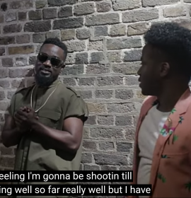 Check out B.T.S of Sarkodie's 'Far Away' which features Korede Bello of Mavin Records | Watch