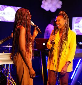 Seyi Shay's chat with Pearl, 'Yolo Yolo' Performance at the Soundcity 98.5 at 3 Live Sessions