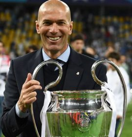 Zinedine Zidane has stepped down as Real Madrid manager