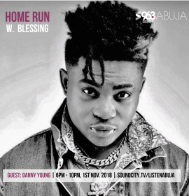 Danny Young and Blessing Interview on the Home Run on Soundcity Abuja