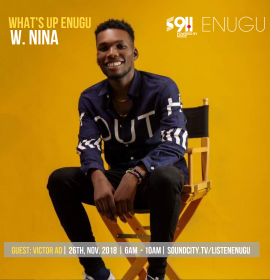 Victor AD's interview with Nina on What's Up Enugu