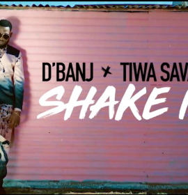 D'banj and Tiwa Savage want you to 'Shake It', watch on SOUNDCITY!