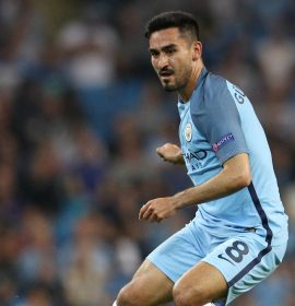 Gundogan thinks Man City Must Win Champions League To Be Among Elite.
