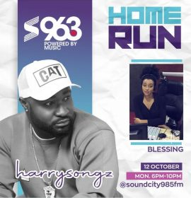 Harrysong tells everything about the 'Right About Now' EP on Home Run Abuja