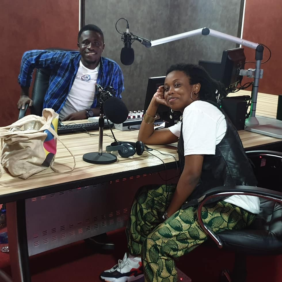 Lady Donli on 'What's up Abuja' with EDK