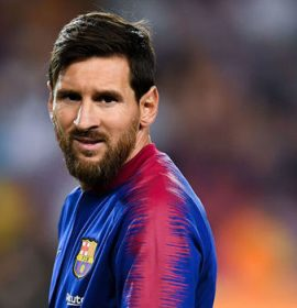 Lionel Messi scored a hat-trick of the highest quality