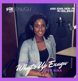 Listen now: Soft and Nina on 'What's Up Enugu'