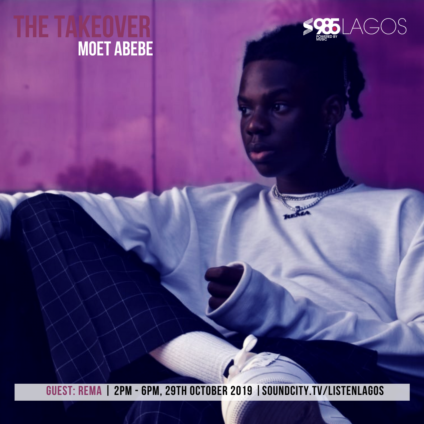 Rema speaks on comparison to Wizkid, D'Prince's valuable advise, need for 'Bad Commando' EP on The Takeover with Moet